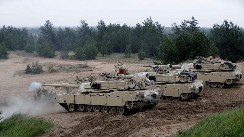 NATO-Übung Saber Strike startet in Lettland