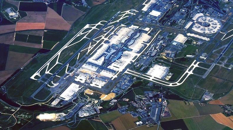Evakuierung am Flughafen Paris-Charles-de-Gaulle