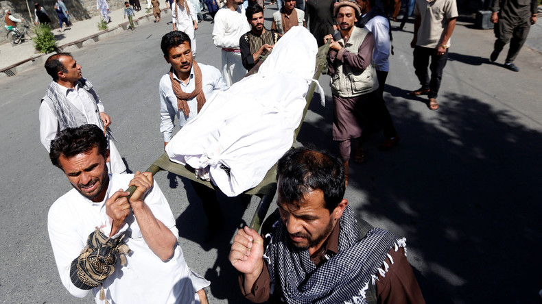 Viele Tote bei Explosion auf Beerdigung in Kabul