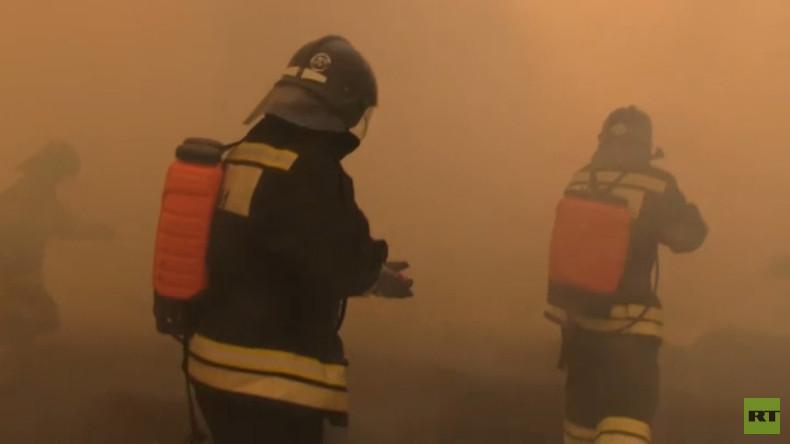Einmal in Russland: Das Katastrophenschutzministerium der Russischen Föderation