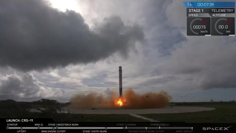 SpaceX schickt erstmals bereits benutzte Dragon-Kapsel zur ISS