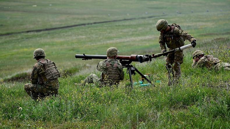 In Georgien starten trilaterale Militärübungen mit Aserbaidschan und Türkei