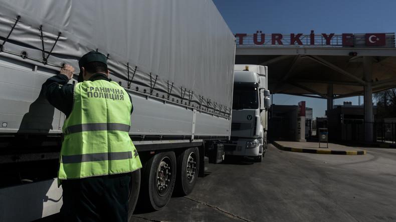 Neun Flüchtlinge sterben bei Verkehrsunfall in Bulgarien