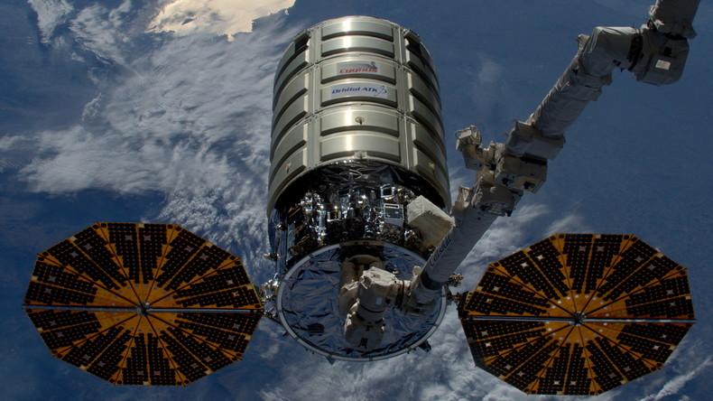 US-Raumfrachter Cygnus dockt von Raumstation ISS ab