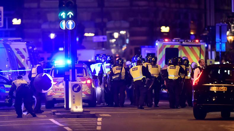 London: Szenen auf der London Bridge