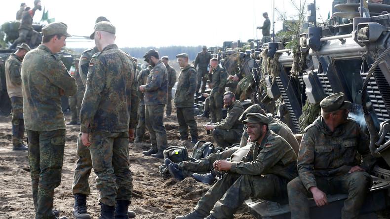 Angriff auf Bundeswehr in Litauen: Vier Soldaten leicht verletzt
