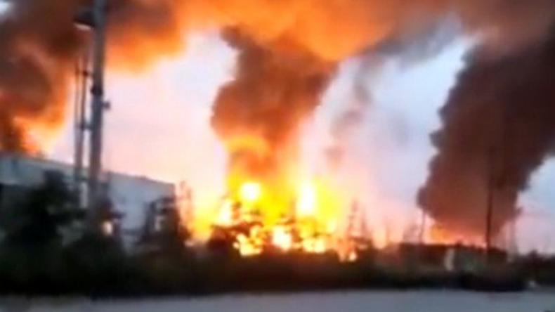 Ein Toter und sieben Vermisste nach Explosion in Chemiewerk in China