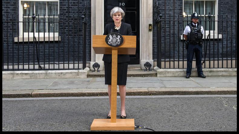 """Britische Premierministerin May hält weiteren Anschlag für """"sehr wahrscheinlich"""""""