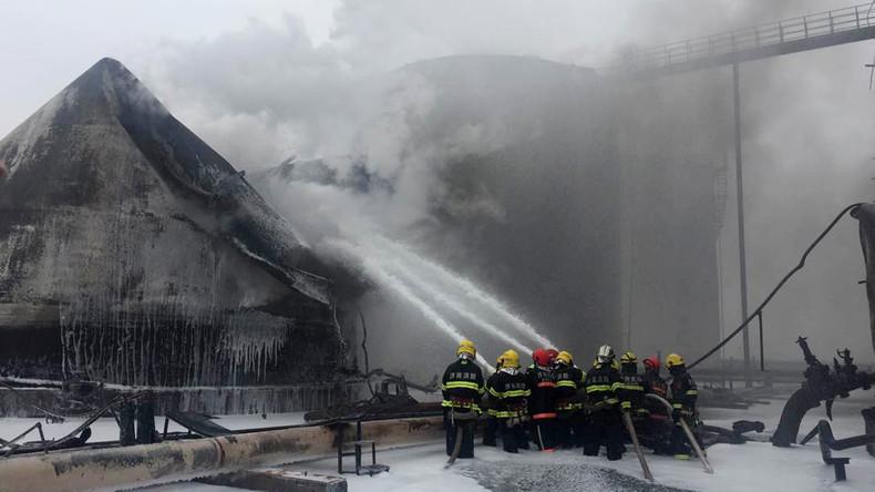 Acht Tote durch Explosionen in Chemiewerk in China