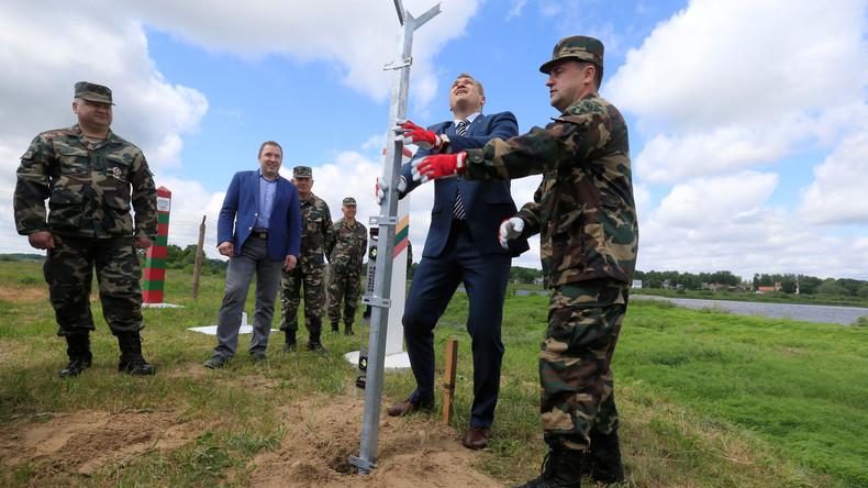 Litauen errichtet Zaun an der EU-Außengrenze zur russischen Exklave Kaliningrad