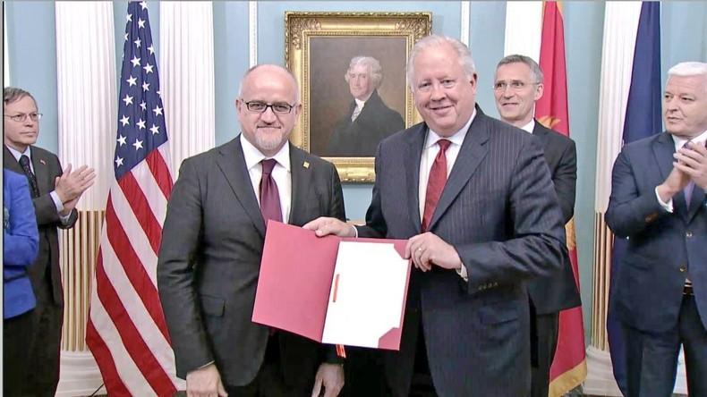Montenegro nun offiziell Mitglied der NATO