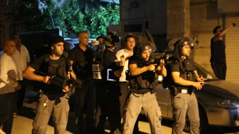 Unruhen in arabischem Dorf in Israel - Ein Toter