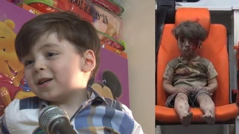 Vater des syrischen Jungen Omran kommentiert ikonisches Bild seines Sohnes: Es war nur Propaganda