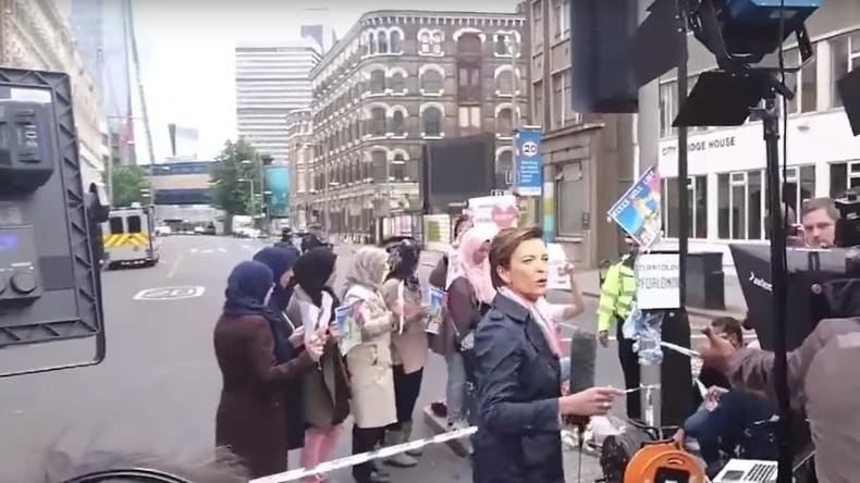 Fake-News-Vorwürfe: CNN soll Demonstration gegen den IS in London fabriziert haben