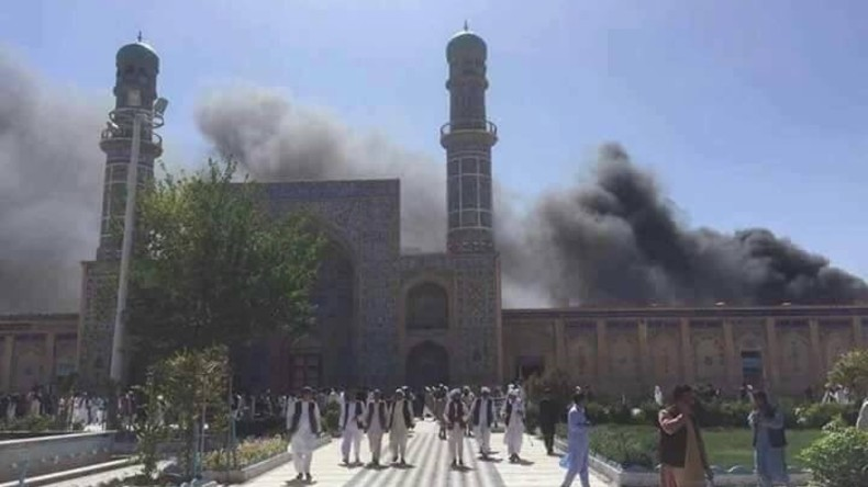 Schwere Explosion vor Moschee in westafghanischer Stadt Herat