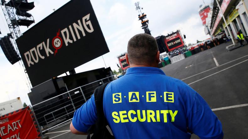 Zwei Männer vor Festival-Terroralarm bei Kontrolle aufgefallen