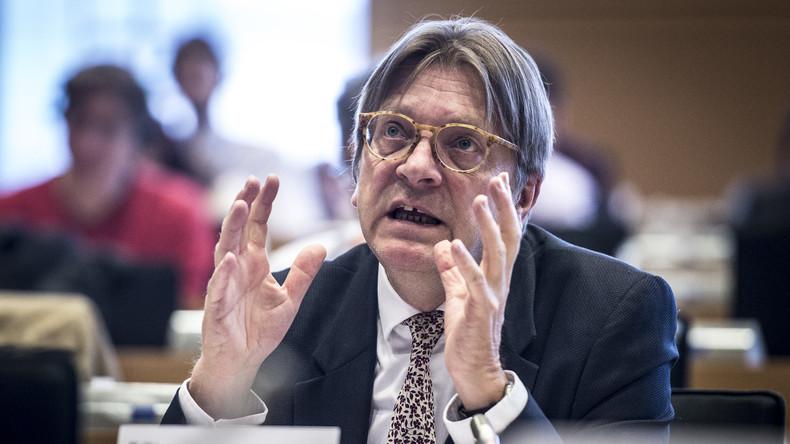 """EU-Brexit-Beauftragter Verhofstadt: """"Wir müssen die EU-Kommission abschaffen, um die EU zu retten"""""""