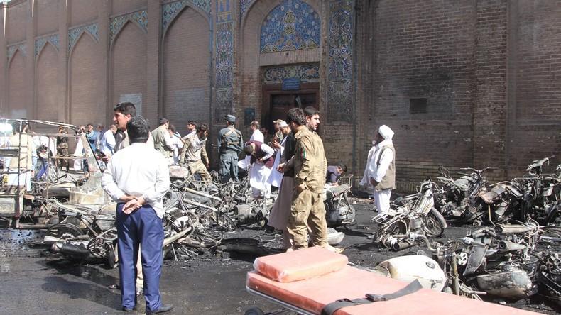 Mindestens sieben Tote bei Anschlag auf Moschee in Westafghanistan