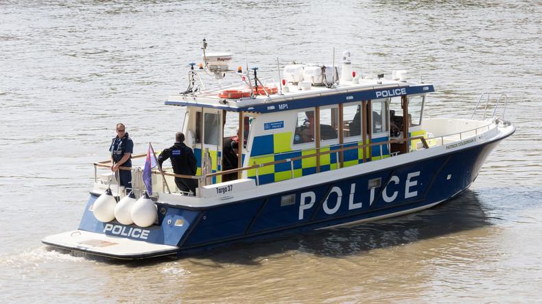 Nach Terroranschlag in London: Polizei birgt Leiche aus der Themse