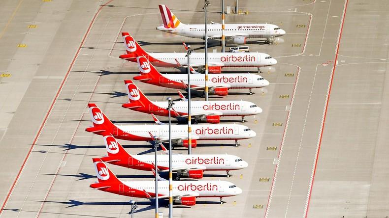 Air Berlin erwägt Bündnis mit Lufthansa