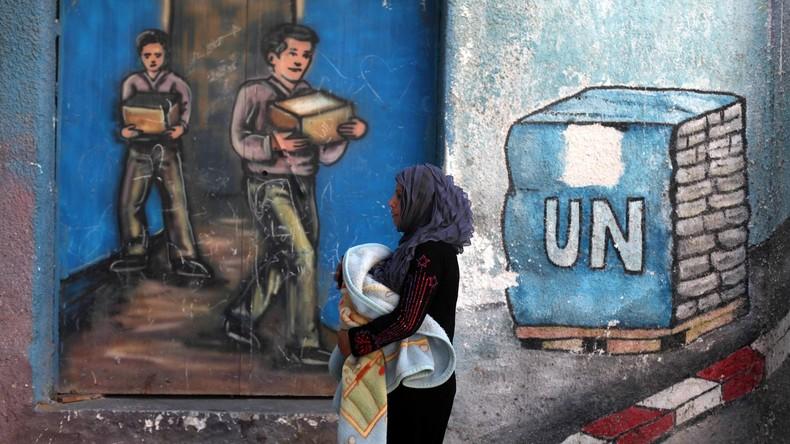 EU gibt 82 Millionen für UN-Hilfswerk für Palästinenser