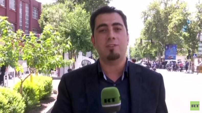 Reporter und Kameramann von RT Arabic in Teheran festgenommen