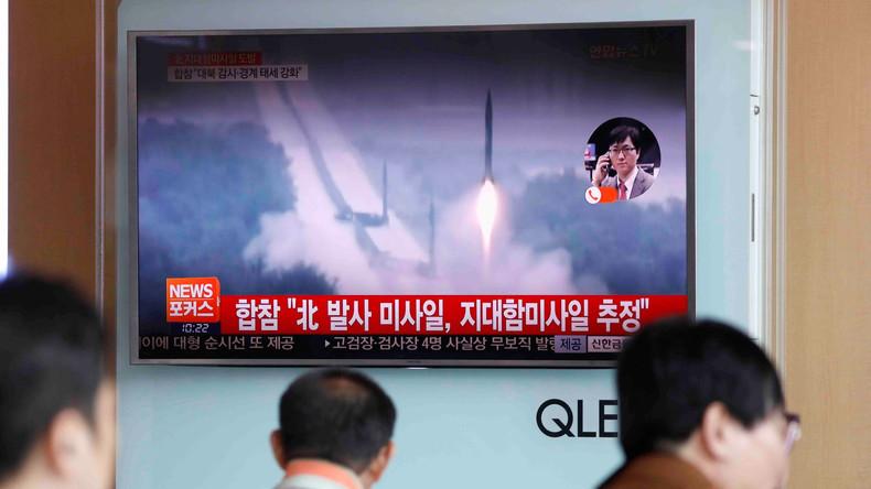 Nordkorea testet mehrere Marschflugkörper