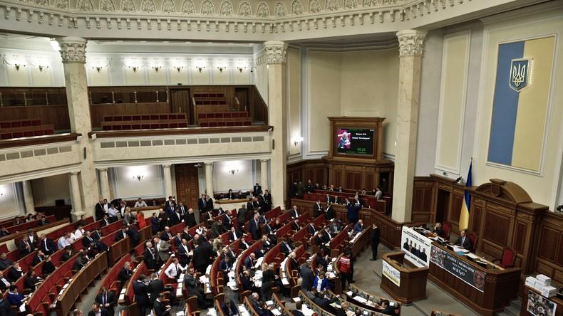 Kiew beschließt NATO-Mitgliedschaft als Ziel der Außenpolitik