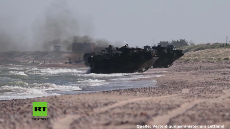 """Saber Strike 2017"": US-Armee erstürmt Küste in Lettland"