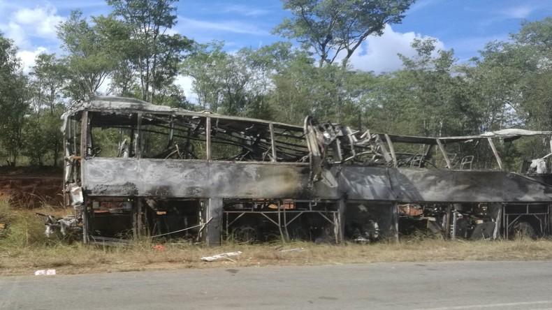 Busunglück in Simbabwe fordert 40 Menschenleben