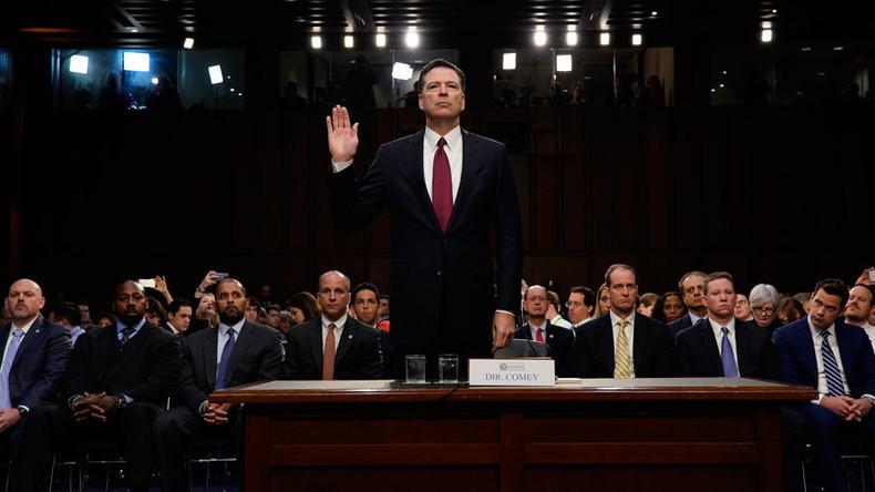 Live-Stream: Ex-FBI-Chef Comey sagt vor dem US-Senat zu seinen Gesprächen mit Trump aus