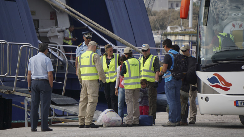 Mehr als 1.200 Migranten im Rahmen des EU-Türkei-Flüchtlingspaktes abgeschoben