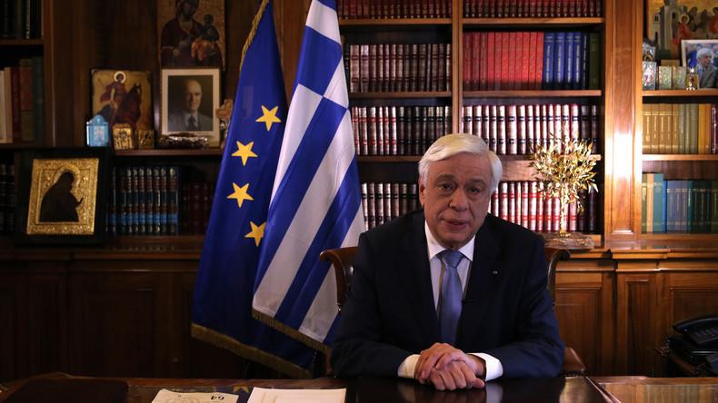 Griechischer Präsident Pavlopoulos fordert Schuldenerleichterungen