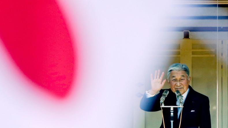 Japan setzt Gesetz zur Abdankung von Kaiser Akihito in Kraft