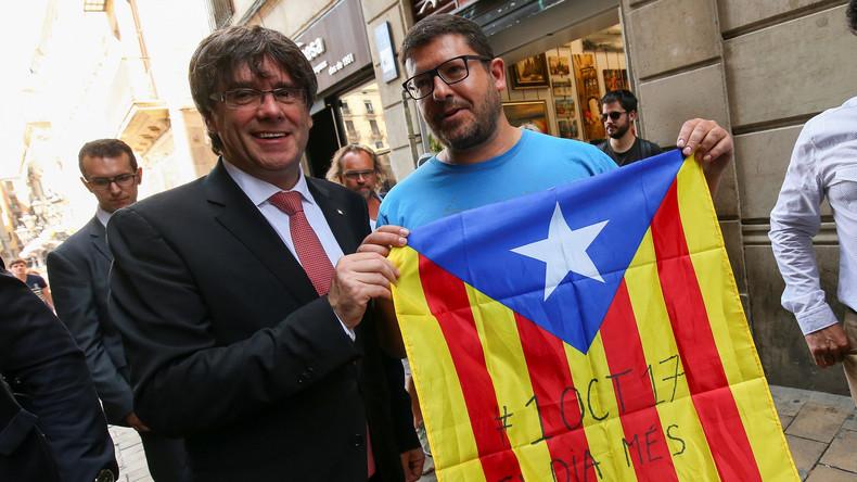 Katalonien kündigt Unabhängigkeitsreferendum für 1. Oktober 2017 an