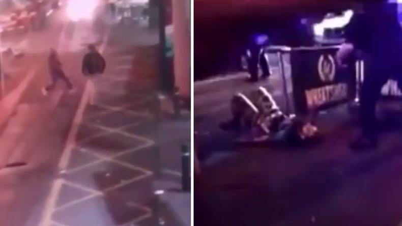 Videos zeigen Messerattacke in London und sterbenden IS-Terroristen