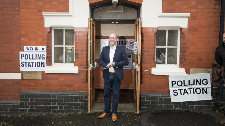 UKIP-Chef Paul Nuttall tritt zurück