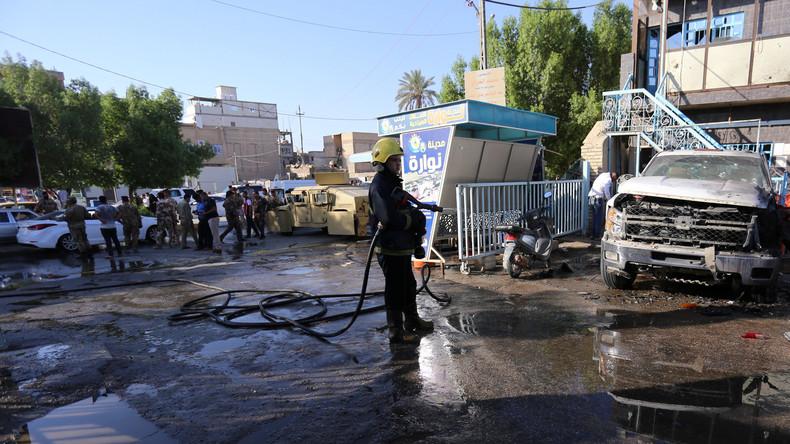 Fast 30 Tote bei IS-Selbstmordanschlägen im Irak
