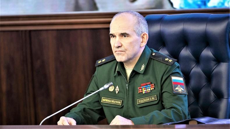Russischer Generaloberst Rudskoj: Bürgerkrieg in Syrien ist faktisch beendet
