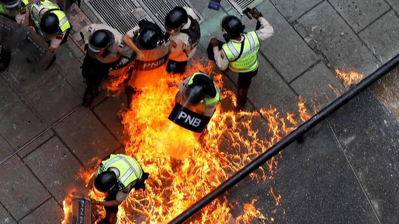 Abby Martin: Wer Venezuelas Opposition widerspricht, wird mit dem Tode bedroht