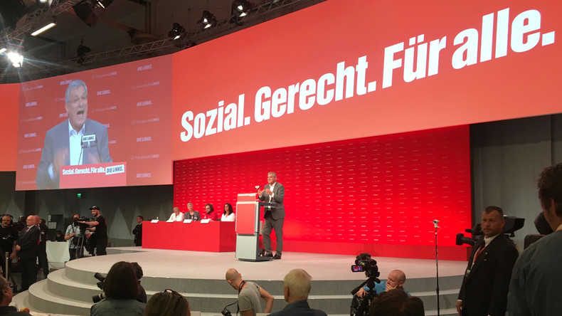 Bernd Riexinger in Hannover