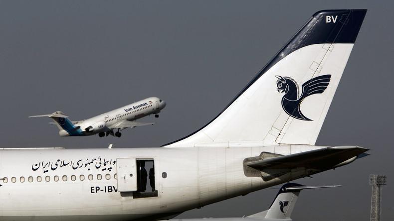 Iranische Fluggesellschaft Aseman und US-Flugzeugbauer Boeing unterzeichnen Milliardendeal
