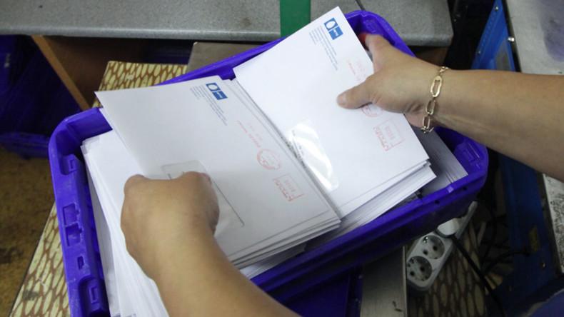 Russische Polizei findet bei Haussuchung in Tschita zwei Tonnen Post