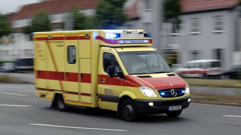 14 Menschen erleiden Verletzungen bei Brand in Bremer Flüchtlingsheim