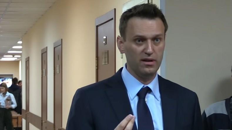 Trotz Verbots: Nationalist Nawalny verlagert Moskauer Proteste in Kremlnähe