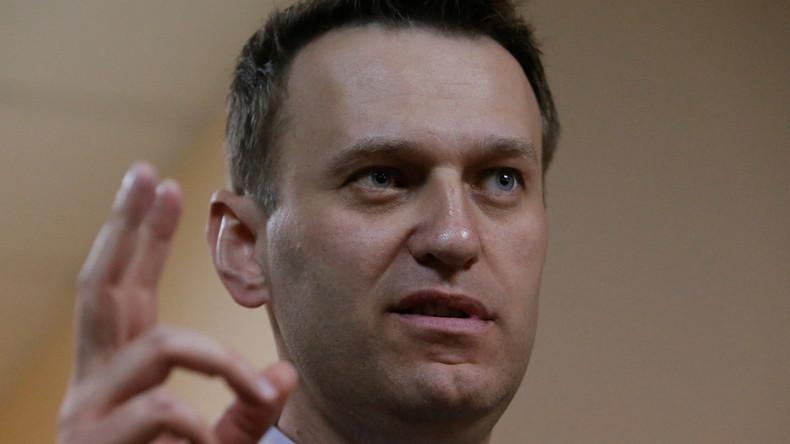 Alexej Nawalny vor Protestaktion in Moskau festgenommen