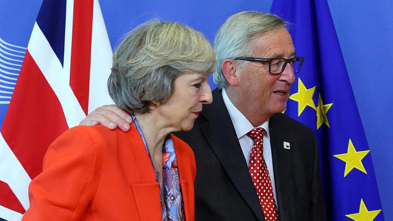 Hat EU-Kommissionschef Juncker der britischen Premierministerin May zu Neuwahlen geraten?