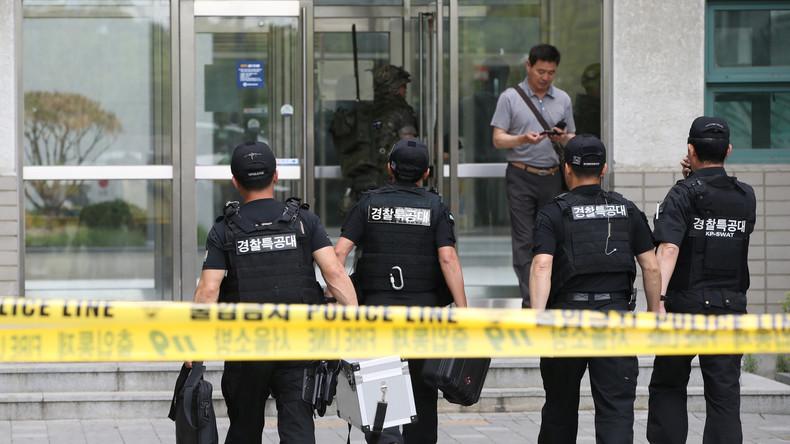 Südkoreanische Polizei evakuiert Universität nach Paketexplosion