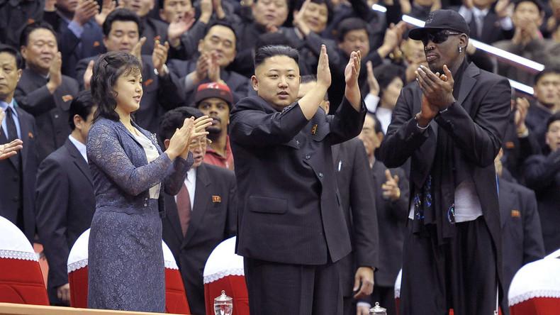Sport-Diplomatie: US-Basketballer Dennis Rodman auf dem Weg zu Kim Jong-un