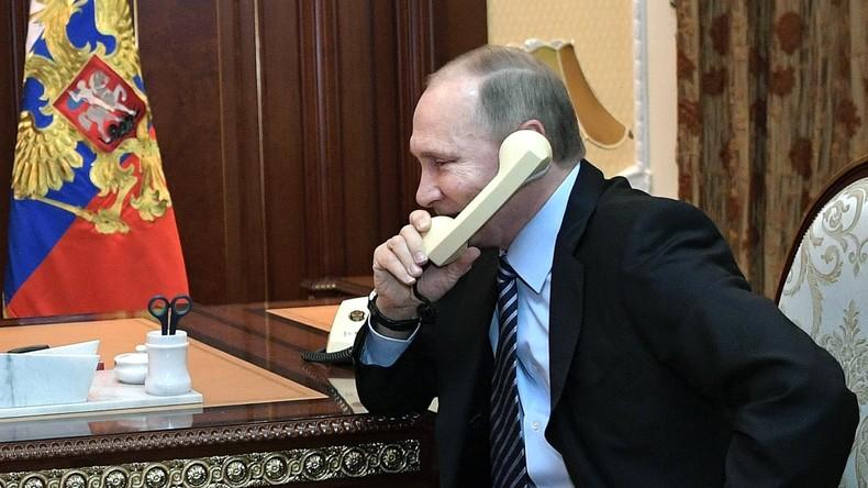 Wladimir Putin telefoniert mit König Saudi-Arabiens über Katar-Krise